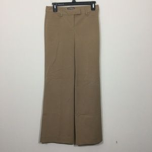 Express Size 00R Brown Editor Dress Pants